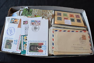Worldwide 1940s to 2000s FDCs/Covers in Box, 99p Start