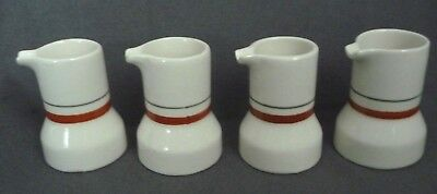 Shenango Individual Mini Creamers Restaurant Ware Set of 4