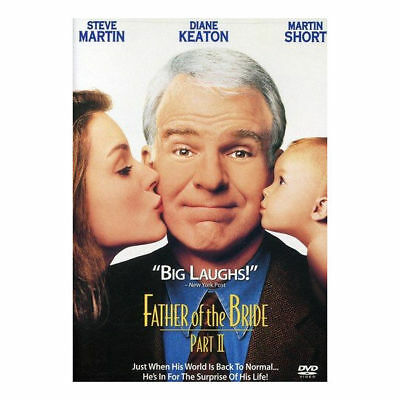 Father of the Bride Part II DVD New Steve Martin