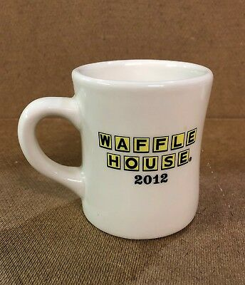 2012 WAFFLE HOUSE Commemorative Diner Coffee Mug - Excellent