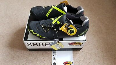 Northwave Ghost XCM carbon MTB Shoes UK 10 euro 44 New! North wave