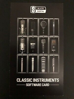 New Slate Digital Classic Instruments Software eDelivery (ML-2)
