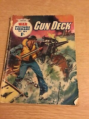 War Picture Librry No 61 Gun Deck Magazine