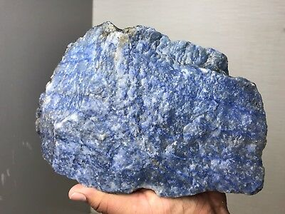 Aaa Top Quality Blue Quartz Rough 14 Lbs From Brazil