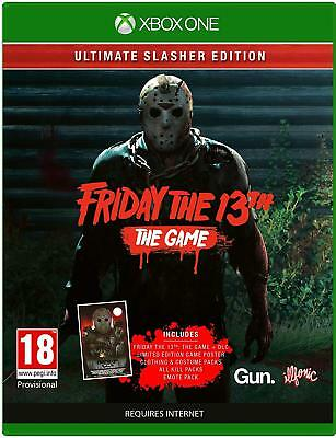 Friday The 13th The Game Ultimate Slasher Edition XBOX ONE BRAND NEW & SEALED