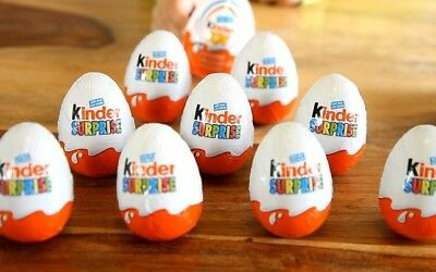 Kider Surprise eggs! Brand new! REAL GERMAN KINDER EGGS!Hard to find in the US!