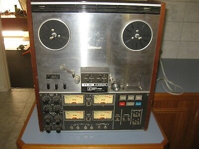 Teac A-3340S Reel to Reel $1 No Reserve. CAN POST