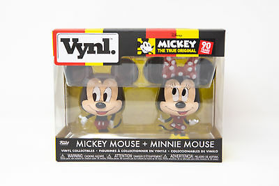 Funko VYNL Mickey Mouse and Minnie Mouse 2 Pack 90th Anniversary | IN STOCK!!