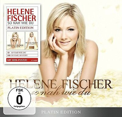 Helene Fischer - So Nah Wie Du (Platin Edition-Limited)   Cd+Dvd New!