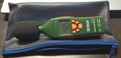 EXTECH Sound Level Meter,Backlit LCD Display, 407732
