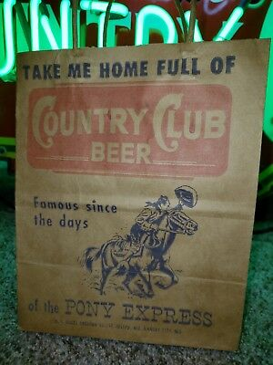 Goetz country club 6 Pack Holder Pony Express