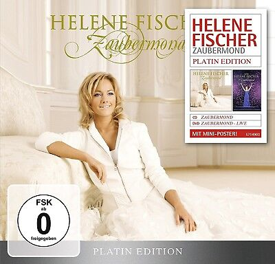 Helene Fischer - Zaubermond (Platin Edition-Limited)   Cd+Dvd New!