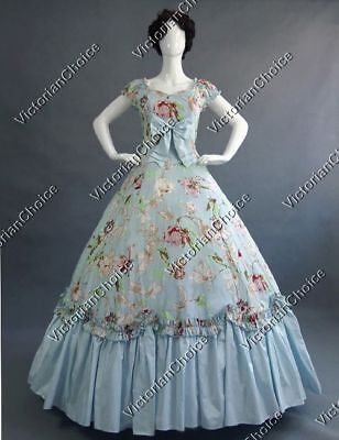 Victorian Belle Alice in Wonderland Party Ball Gown Fancy Dress Theater 273 XL