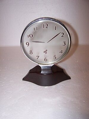 REX COLE Vintage Model 5-A  Boots Boy Mystery See Through Clock US