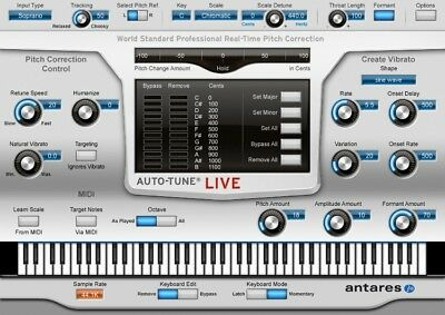 Antares Auto-Tune Live (Electronic Delivery) - Authorized Dealer!