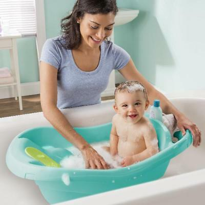 Baby Infant Newborn to Toddler Tub w/ Fabric Sling for Safety and Comfort