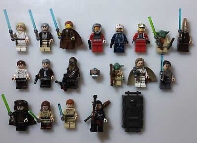 LEGO Star Wars - Set of 20 Official Minifigures Minifigs - Great Lot of Figures!