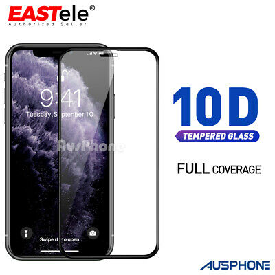 Apple iPhone 11 Pro X XS Max XR 8 7 Plus Tempered Glass Screen Protector 6D Full