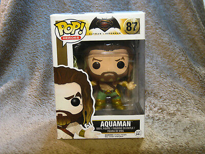 Aquaman Funko Pop Heroes #89 Batman vs Superman Jason Momoa