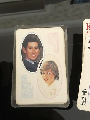 Charles And Diana Playing Cards
