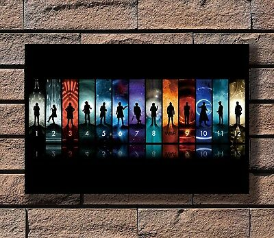Art Poster 24x36 27x40 Doctor Who BBC Space Travel Season8 Hot TV Show Pop T-617