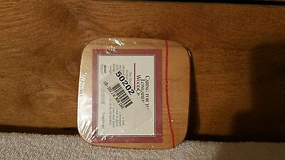 Longaberger JW Miniature Cake Basket Classic Stain Wooden Lid Only New Sealed