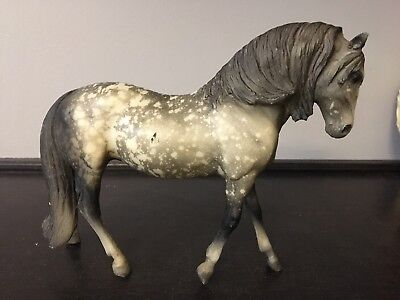 Vintage Breyer Horse Model Dapple Gray Mare Andalusian Classic