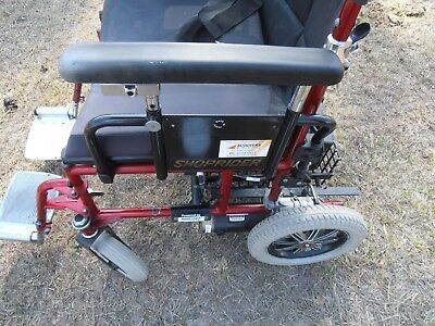 Shoprider Motorised Mobility Wheelchair Folding And Tow Bar Carrier