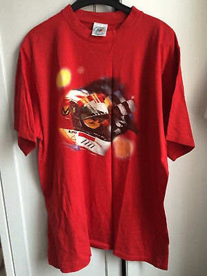 rotes - T-Shirt - Michael Schumacher Collection
