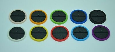 10 x Blood Bowl skill markers / rings for 32 mm bases (New bases)