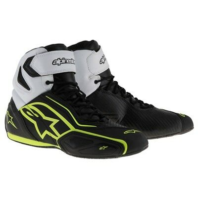Alpinestars Faster 2 Waterproof Motorcycle Motorbike Boots/Shoes - Fluo