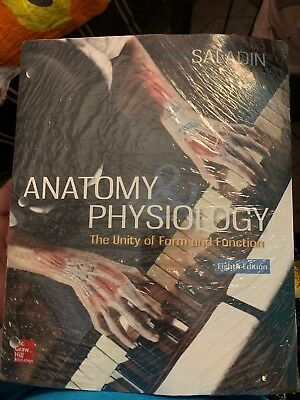 anatomy physiology the unity of form and function standalone book