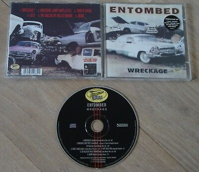 Entombed Wreckage EP - 1997 Music For Nations