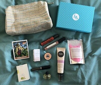 Beauty Box Full Size & Samples Nude By Nature The Body Shop NYX