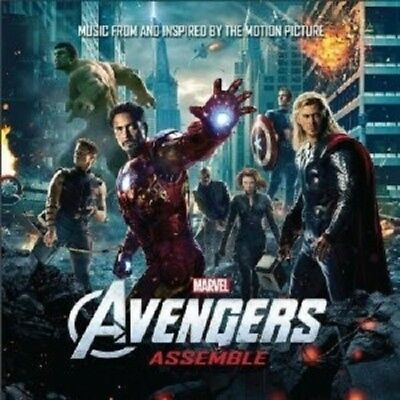 Marvels The Avengers  Cd Sountrack ++++++++++++ New!