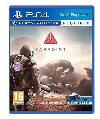 Farpoint (PSVR) For VR PS4 (New & Sealed)