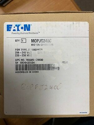 Eaton MOPJG240C Motor Operator New In Box