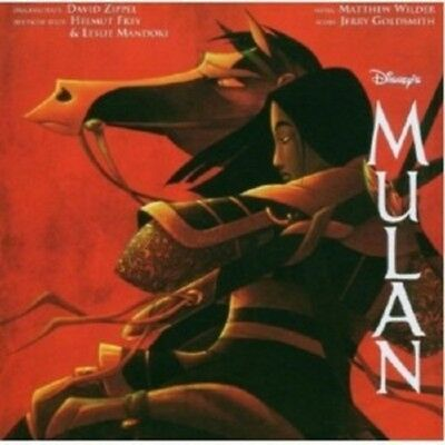 Ost/Jerry Goldsmith - Mulan  Cd 14 Tracks Deutscher Original Sountrack New!