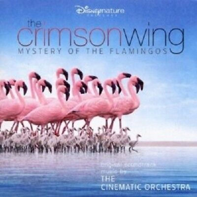 The Cinematic Orchestra - The Crimson Wing-Mystery Of The Flamingos Cd Pop New!