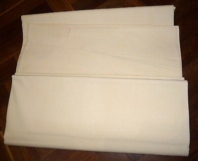 Vintage UNUSED French metis sheet.  Plain.  198 x 290cms.   Ref 'E'.
