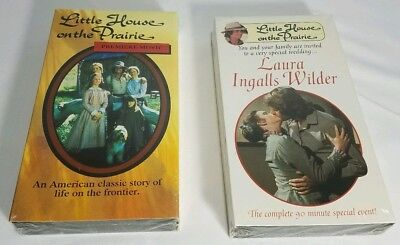 Little House on the Prairie 2 Set PremierMovie Laura Ingalls VHS NEW SEALED A13