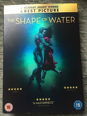 The Shape of Water [DVD] [2018] Nearly New  Sally Hawkins, Octavia Spencer