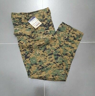 FROG Combat Pants Woodland MARPAT SMALL - LONG Fire Resistant USMC