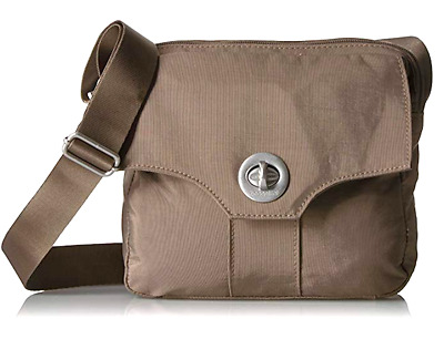 Baggallini NEW Cashew Color High Rise with Silver Hardware, FREE US Shipping