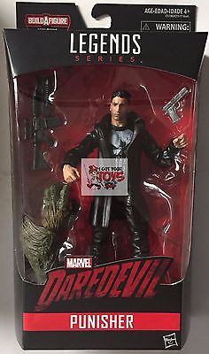 """PUNISHER + MAN THING PART HASBRO Marvel Legends 2017 6"""" inch ACTION FIGURE"""