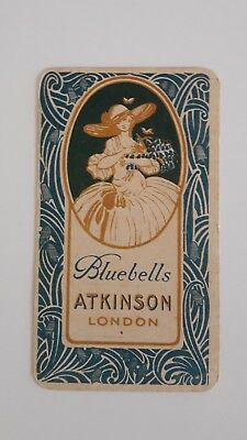 Carte Ancienne ATKINSON Bluebells * Non ref.
