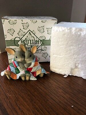 Charming Tails You're My Snuggle Bunny Fitz and Floyd Figurine #87/120