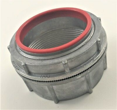 """Insulated and Gasketed Lot//10 Watertight Die Cast New 2"""" Hub Rigid"""