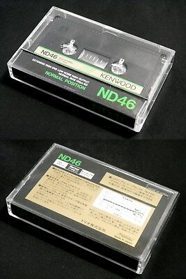 One(1) TRIO Kenwood cassette tape ND 46 Japan version Very good condition