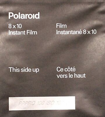 NEW,OLD STOCK,POLAROID 809 INSTANT FILM,8 x 10,20 SHEETS